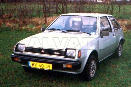 Mitsubishi COLT (A150) 01.1983-01.1984