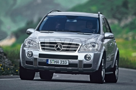 Mercedes-Benz ML-Cl (W164) - Parts on