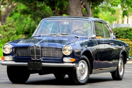 BMW 2.6-3200 V8 coupe 10.1958-07.1966