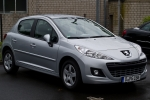 Peugeot 207 (W_) Klaasipuhasti hari