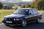 BMW 5 (E34), SDN+ESTATE Number plate support