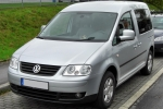 Volkswagen VW CADDY III/LIFE (2K) Jarrujen suojapelti