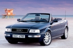 Audi 80 (B4), COUPE/CABRIO Rubber Strip, exhaust system