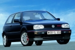 Volkswagen VW GOLF III (1H) (HB + ESTATE+CABRIO) Konksu kate