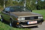 Audi QUATTRO (85) Wheel chock with holder