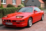 BMW 8 (E31) Lacquer finish