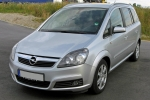 Opel ZAFIRA Pressure switch