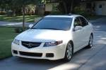 Acura TSX Ground coat paint