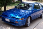 Acura INTEGRA Spray lacquer