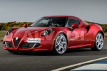 Alfa Romeo 4C (960) Parking clock