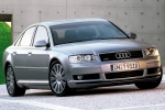Audi A8 (D3) Number plate light