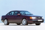 Audi 100 (C4)+AVANT Plastic renovation and conservation agent
