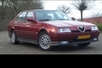 Alfa Romeo 164 (164) Plastic renovation and conservation agent