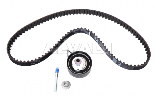 pulley kit with timing belt ina 530033510 for peugeot  citroen