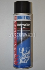 Outer side corrosion protection (DINITROL 482)