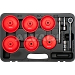 Cap type oil filter wrench set 15pcs