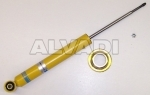 shock absorber with mounting of spring