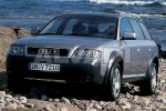 Audi A6 ALLROAD (4BH, C5) Warning lamp switch