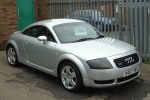 Audi TT (8N) Rubber Strip, exhaust system