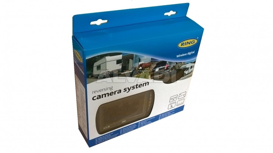 Reversing camera with wireless display{NL}