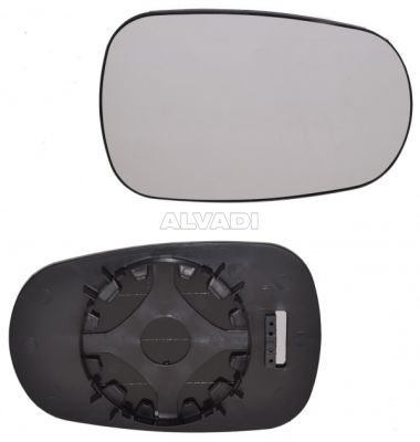 GENUINE RENAULT CLIO RIGHT HAND WING MIRROR GLASS 7701040255
