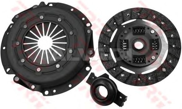 Clutch Kit LUK 619 0482 00 588 8451 for FIAT TIPO (160)