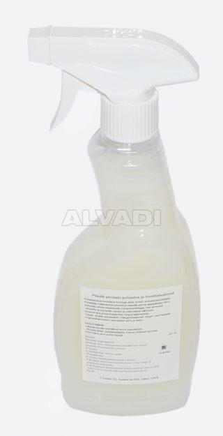 Plastik pindade puhastus-ja hooldusvahend