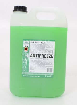 Radiator fluid -36C - Green