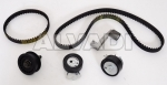 Pulley kit with timing belt