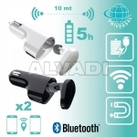 Bluetooth Hands-Free + autolaadija + USB