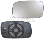 Door mirror glass base