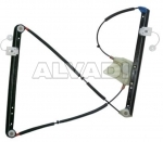 Electric window lift without motor